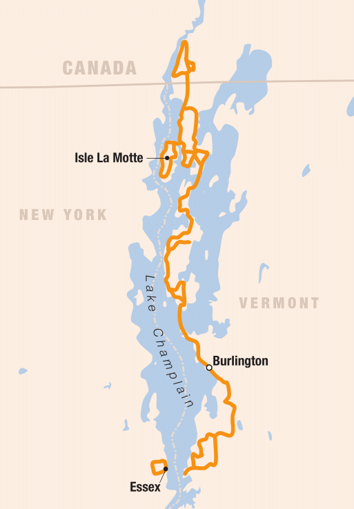 Picture of Lake Champlain Islands Bike Tour