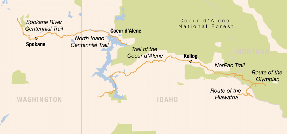 Picture of Idaho Trails Bike Tour