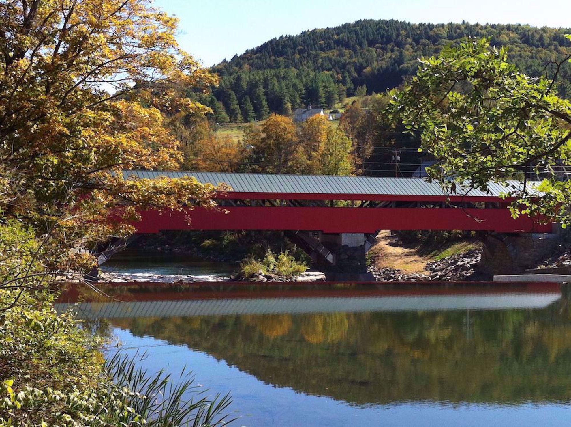 Taftsville covered bridge