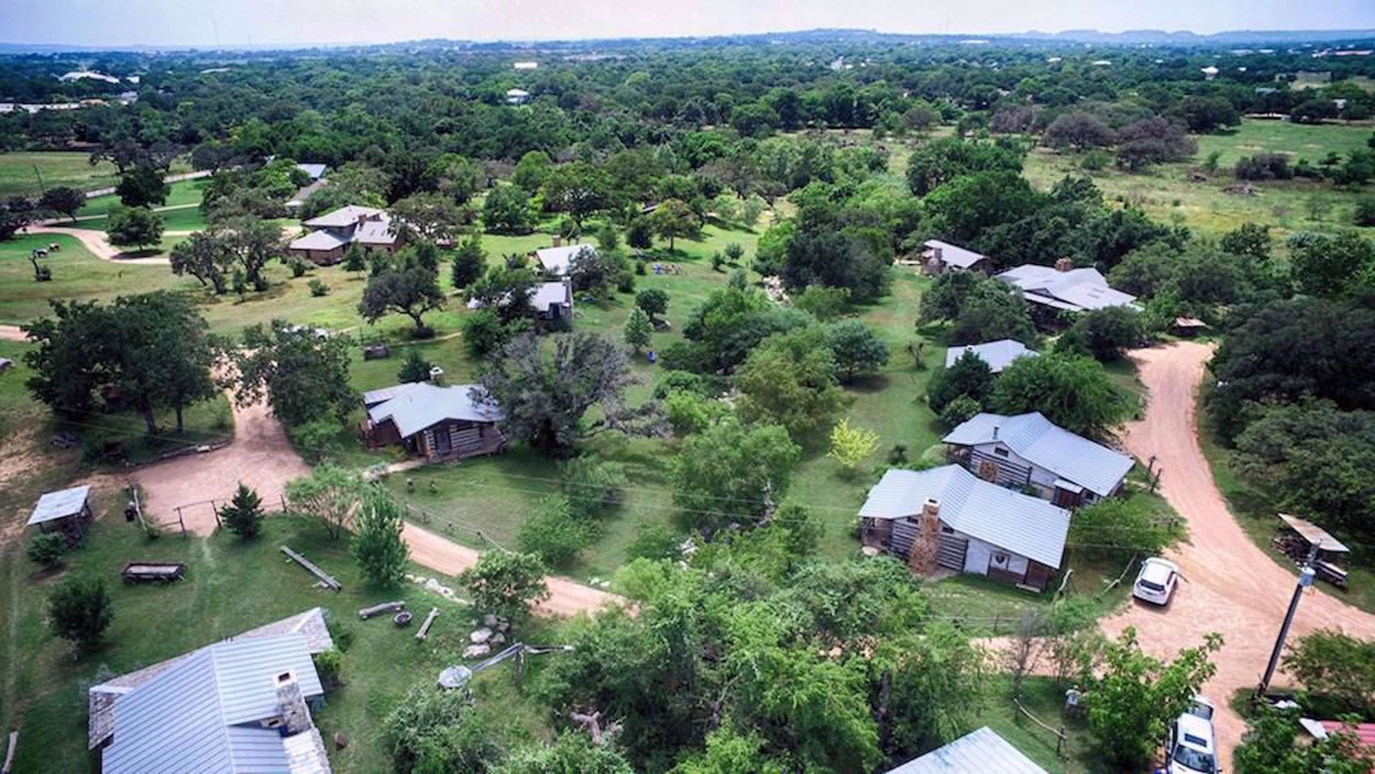 Barons Creekside drone shot