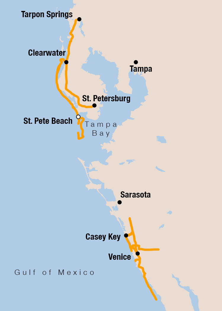 Picture of Florida Gulf Beaches & Rail Trails Bike Tour