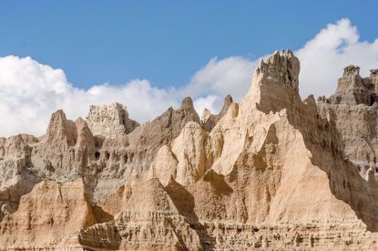 Rock formation Badlands National Park