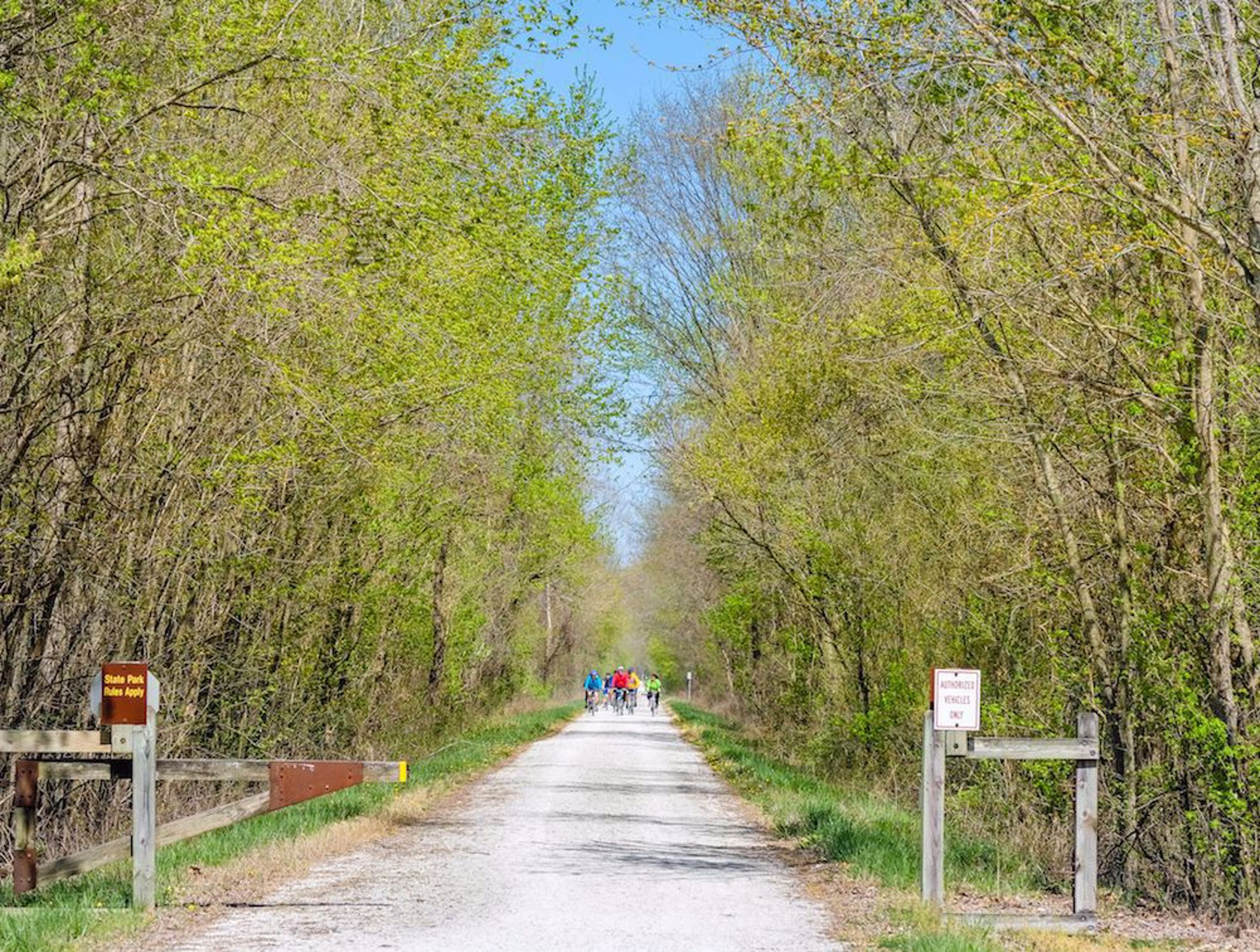 Katy Trail in spring