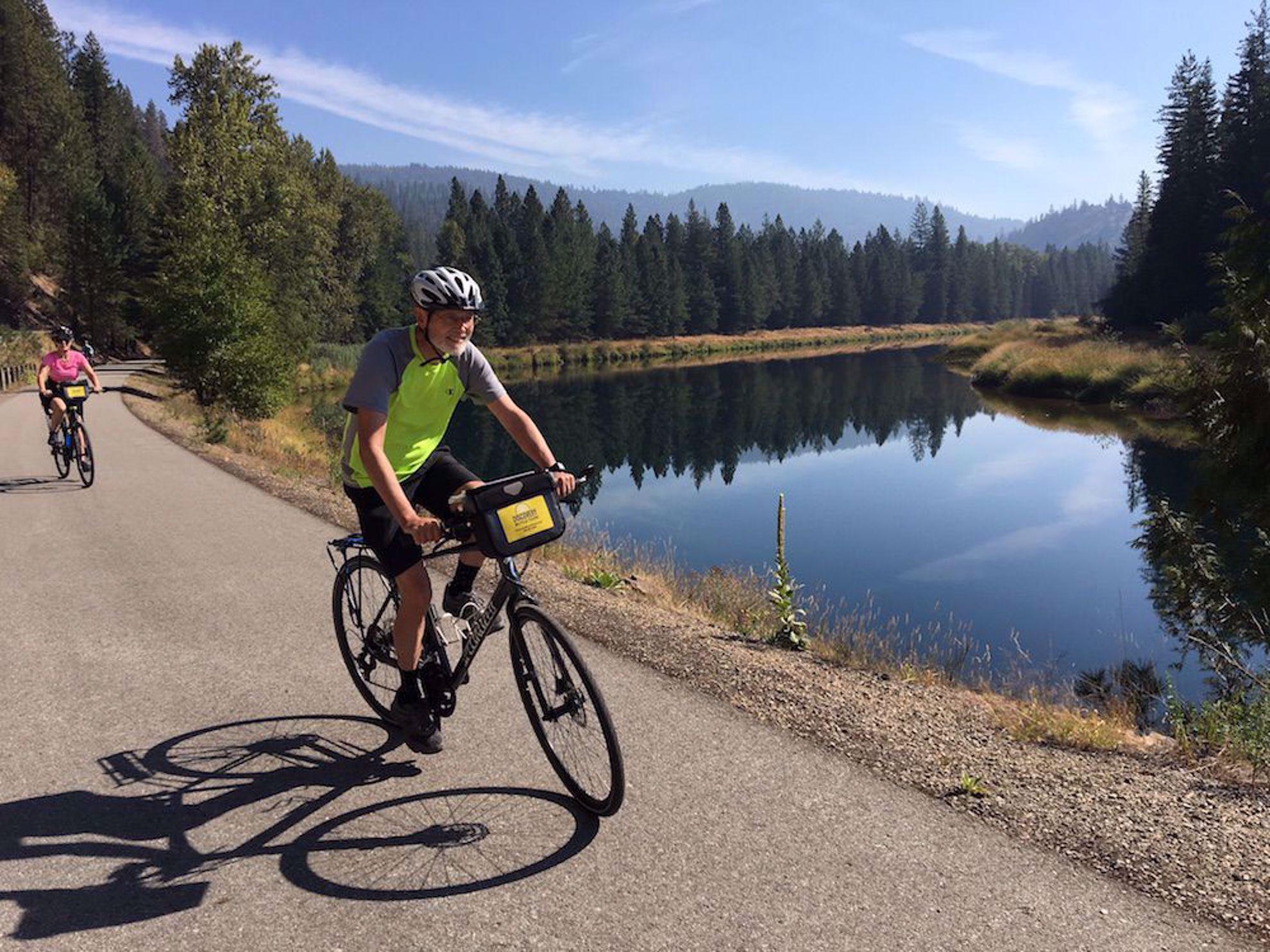 Rider by water Idaho