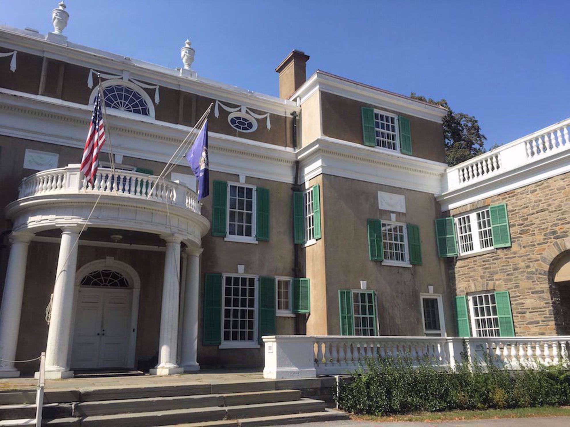 Roosevelt mansion Hyde Park