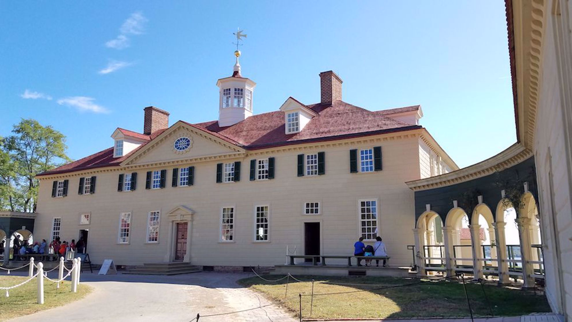 George Washington's home at Mount Vernon