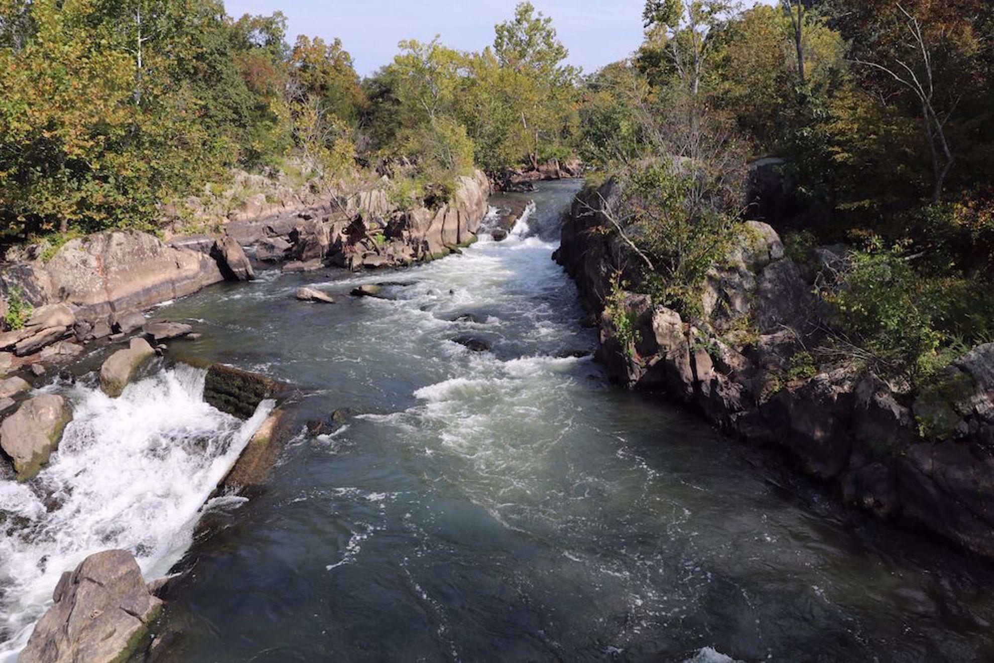 Great Falls near Washington DC