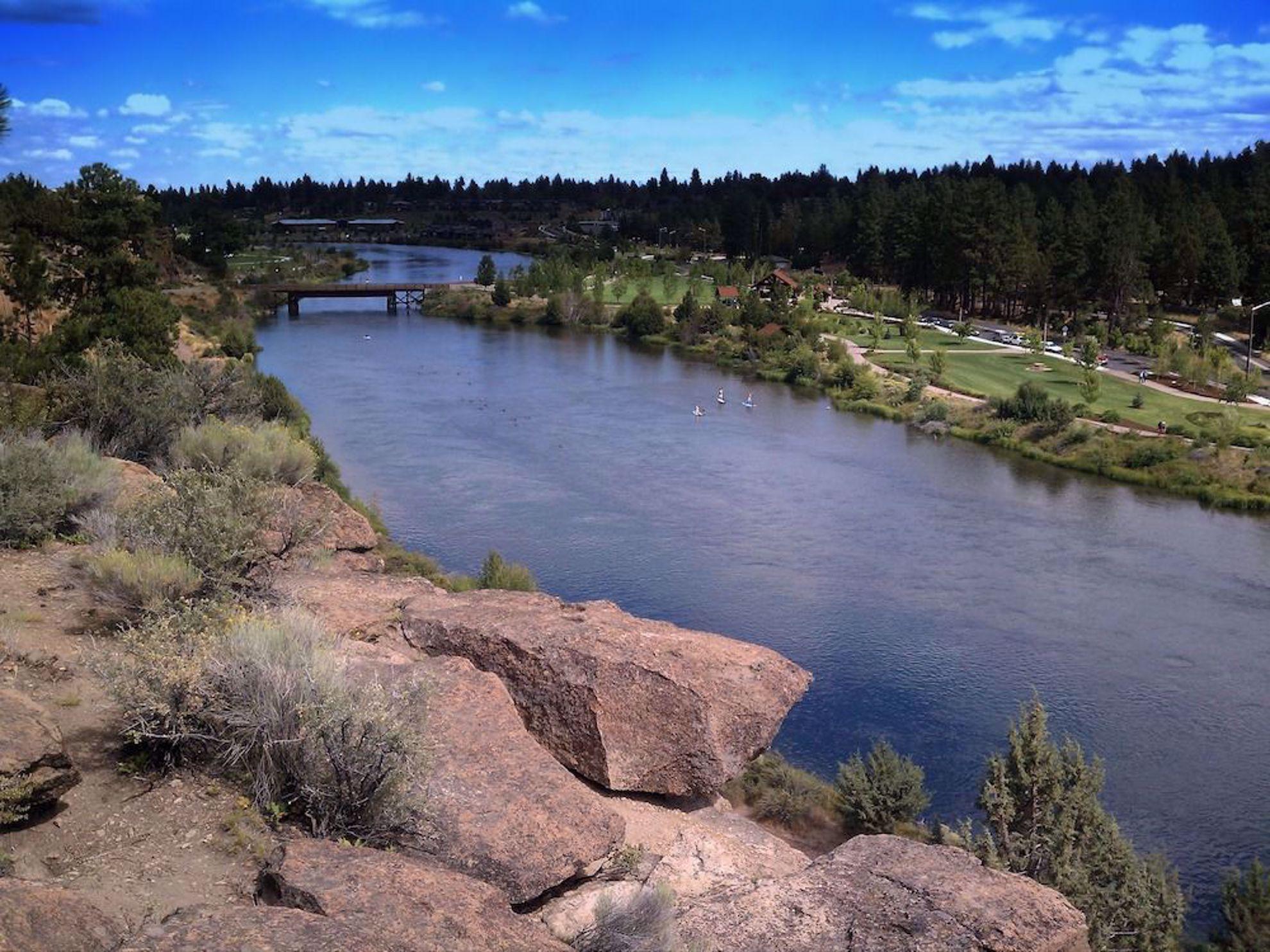 River in Bend, Oregon