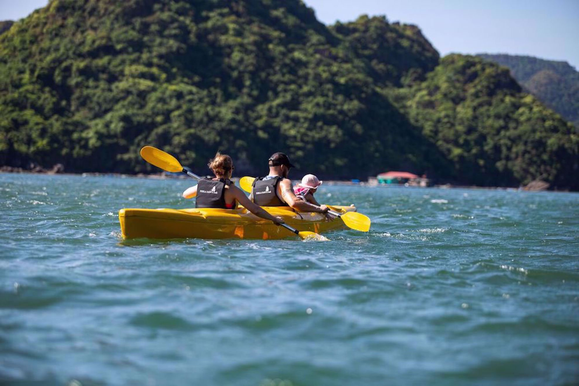 Kayaking on cruise Vietnam