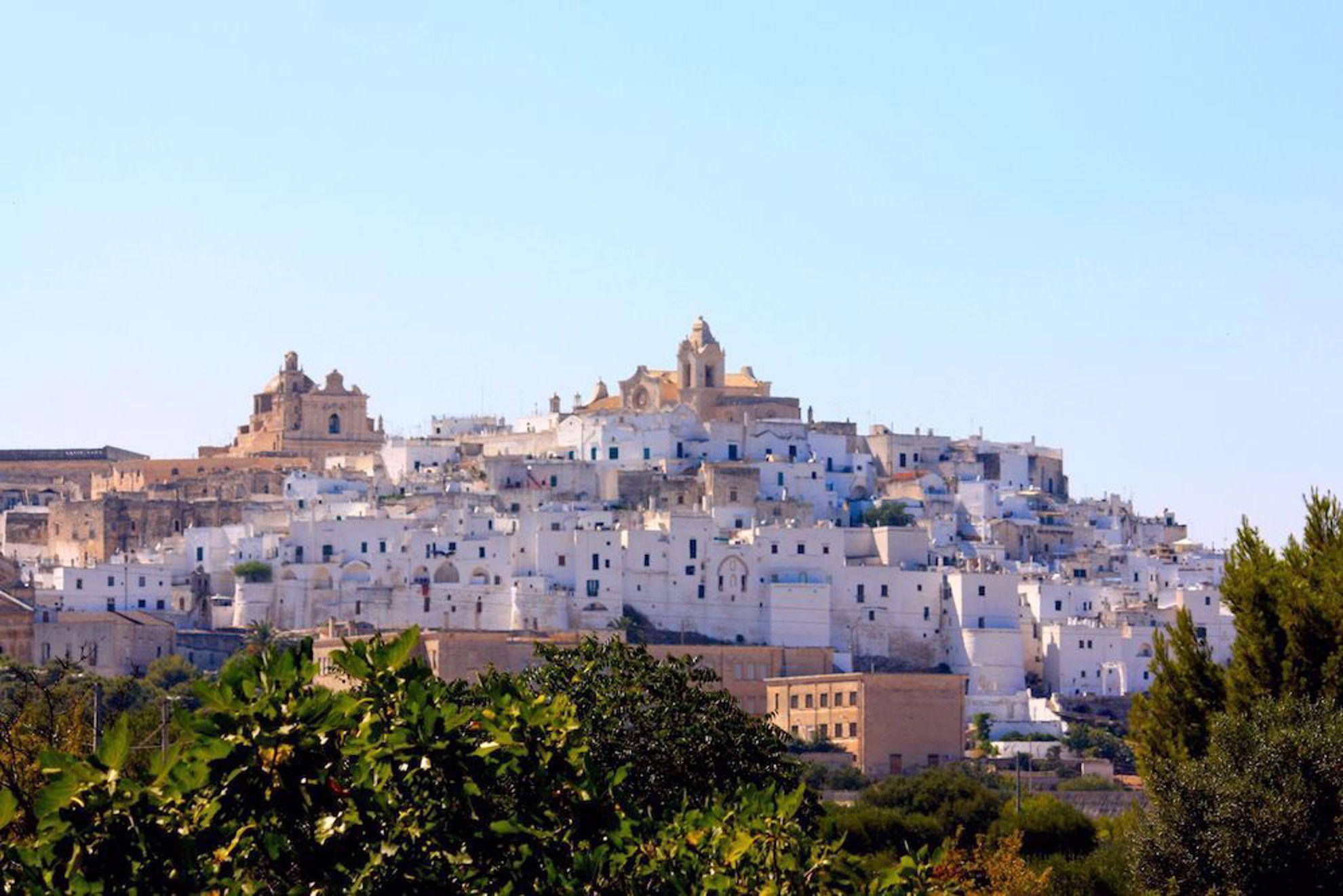Hilltop town Puglia