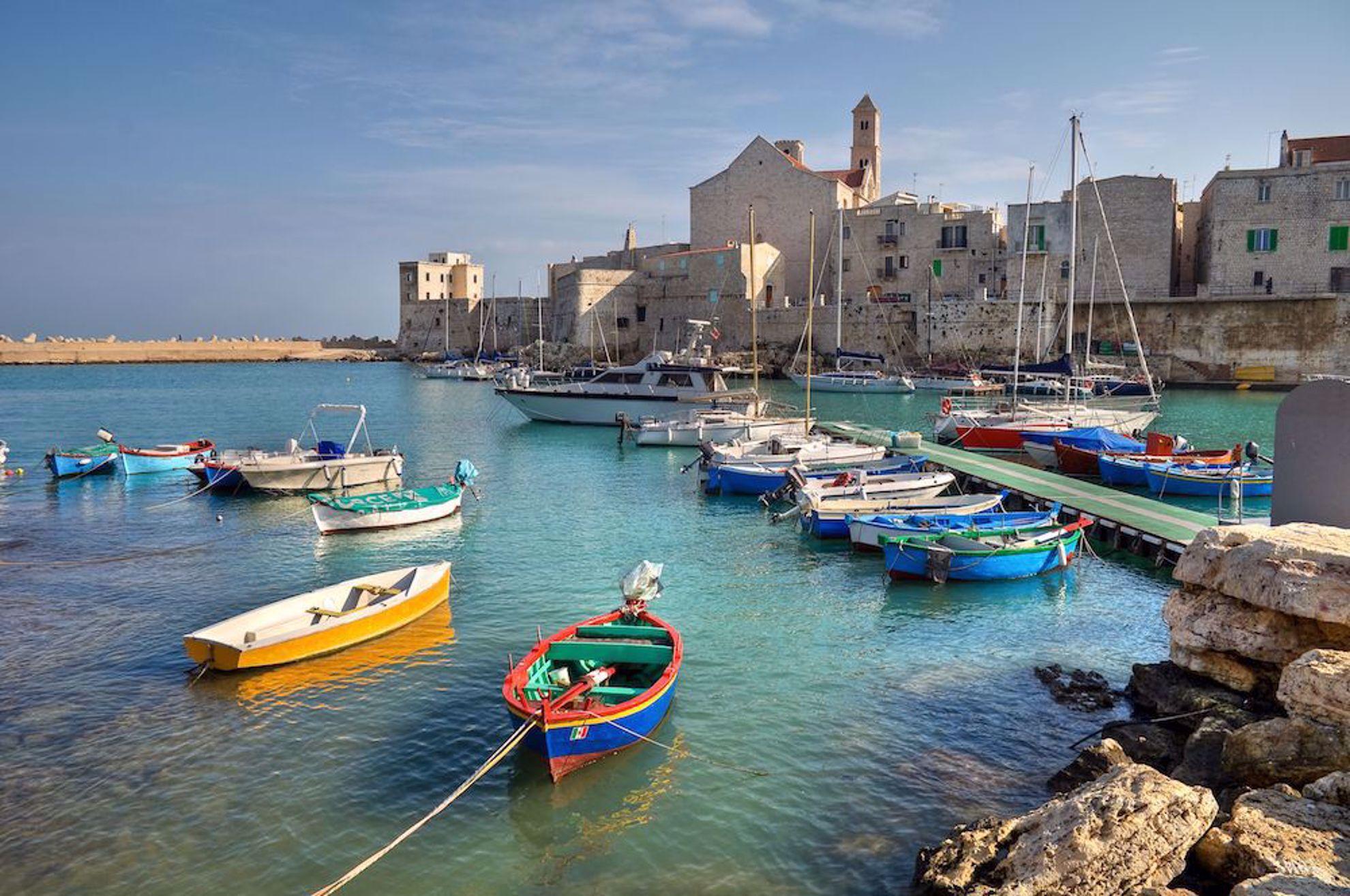 Harbor in Puglia