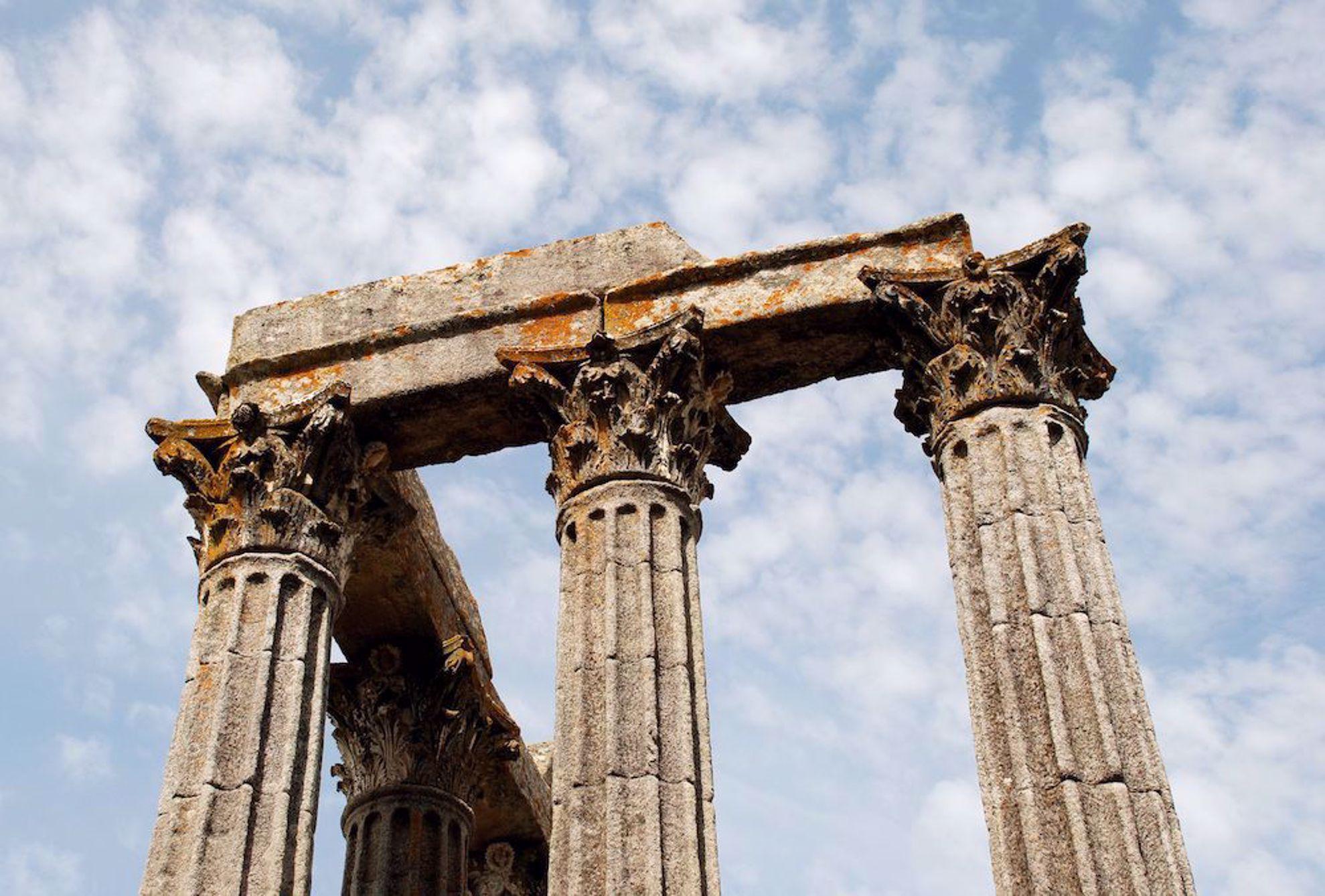Roman ruins Evora
