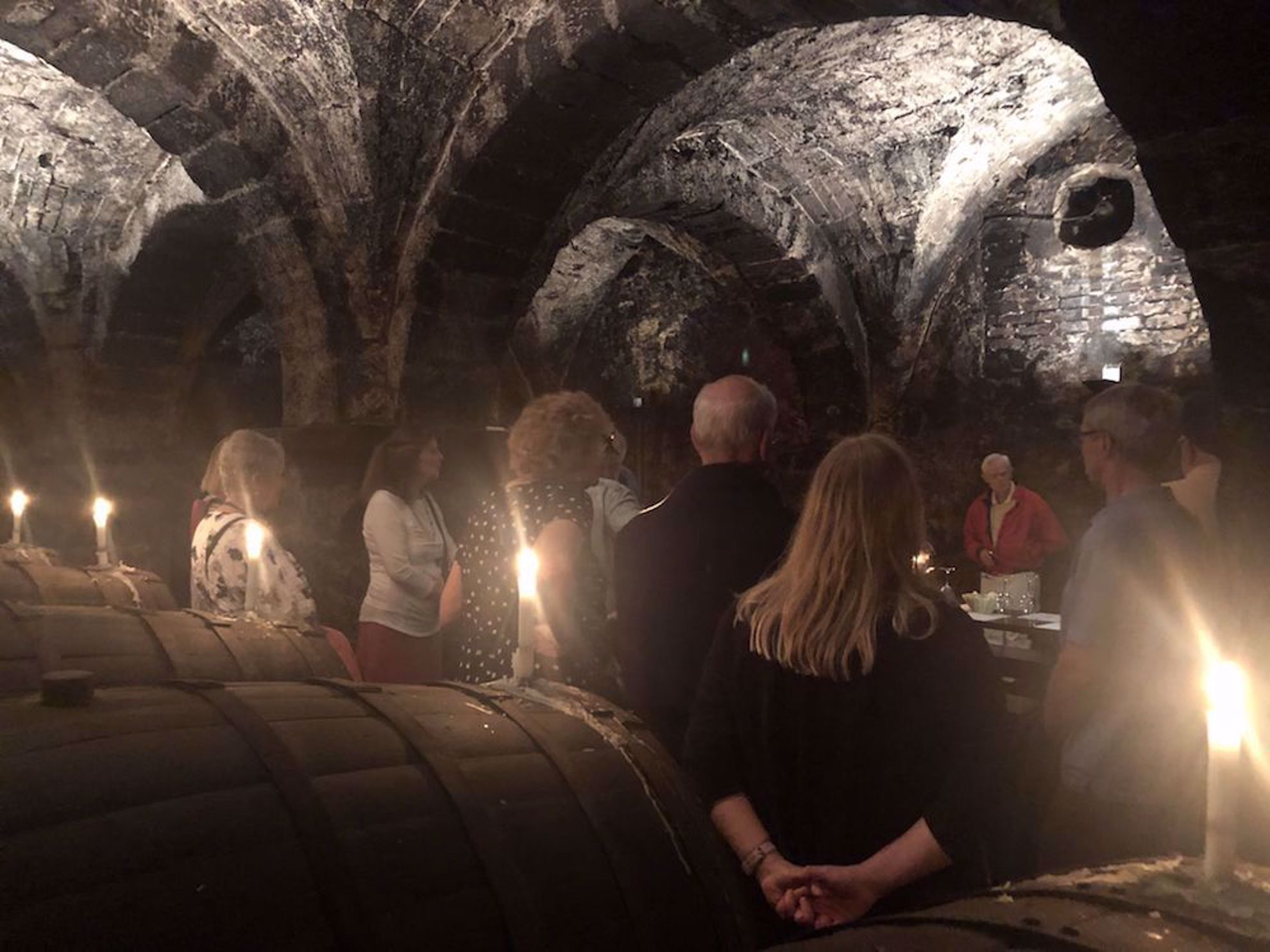 Wine tasting in the ancient Hospice in Trier Germany