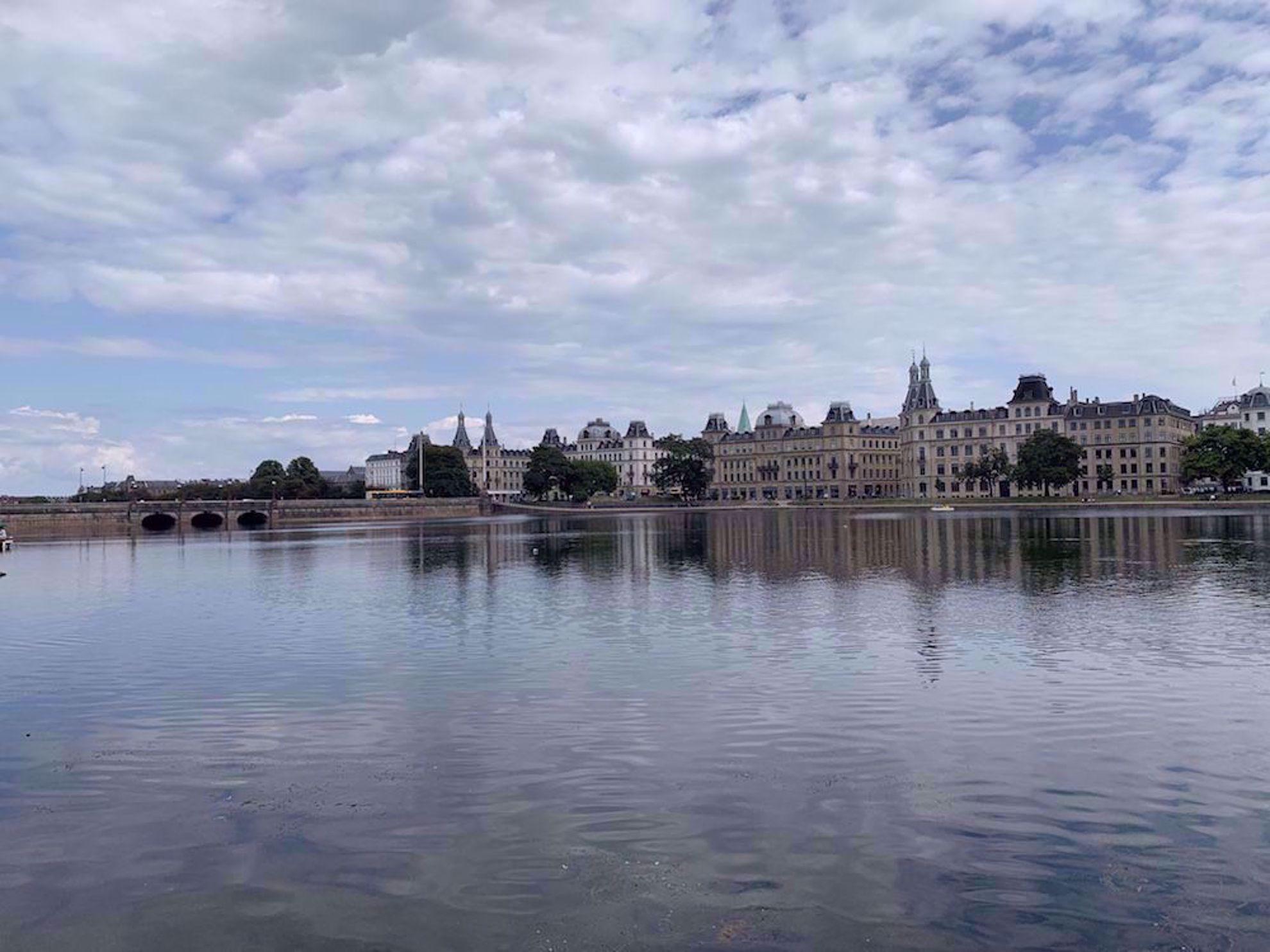 Copenhagen across water