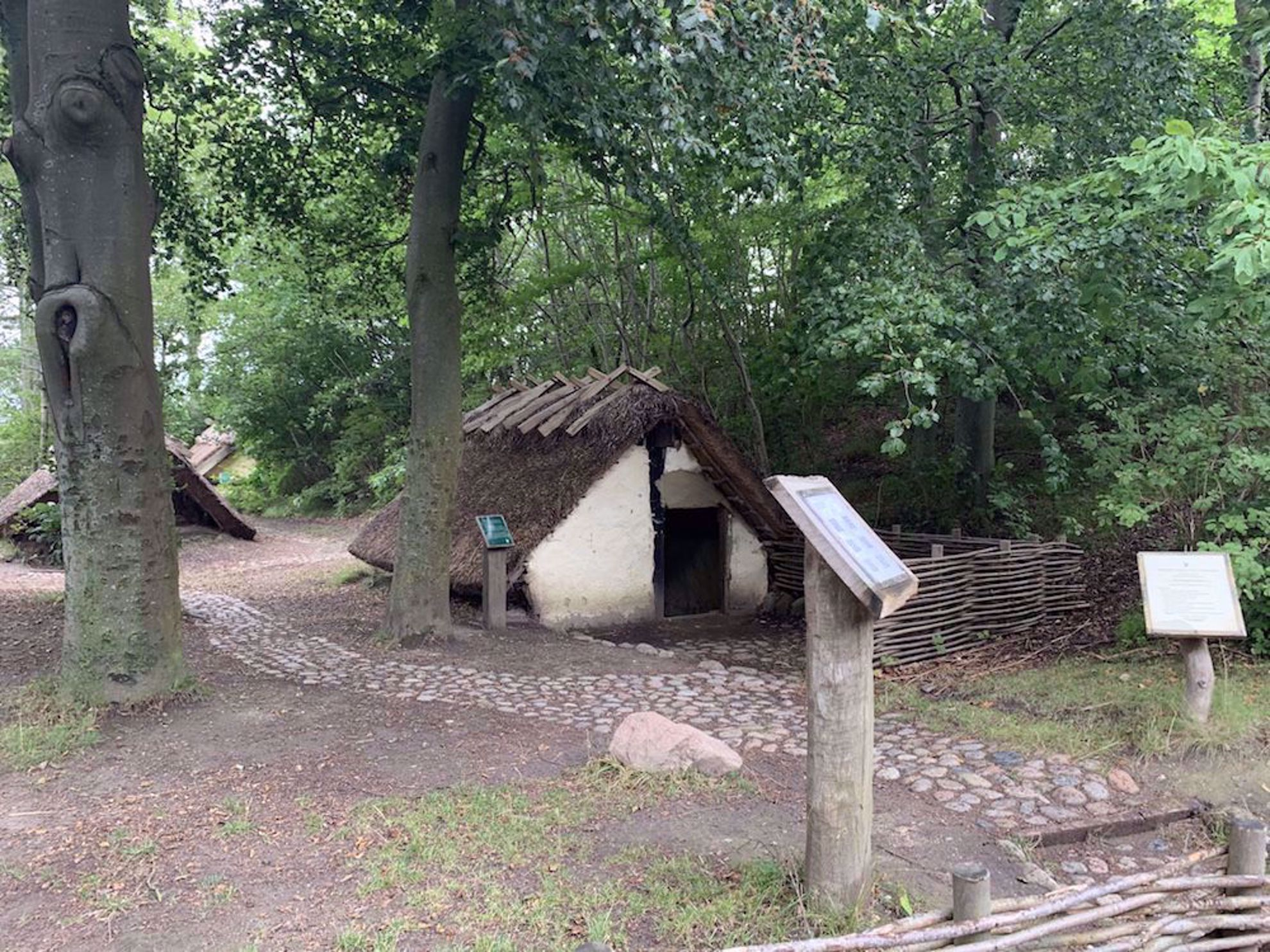 Viking house reconstructed