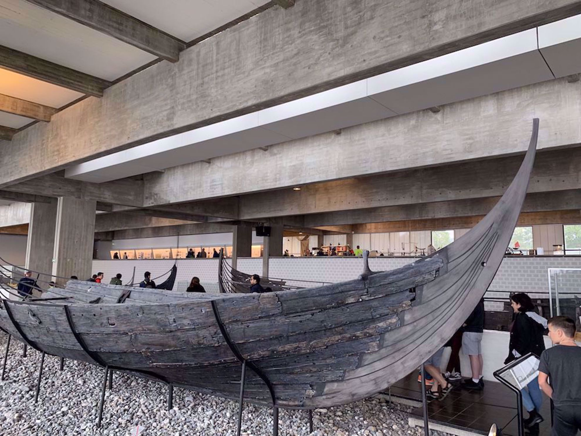 Viking ship at Roskilde museum