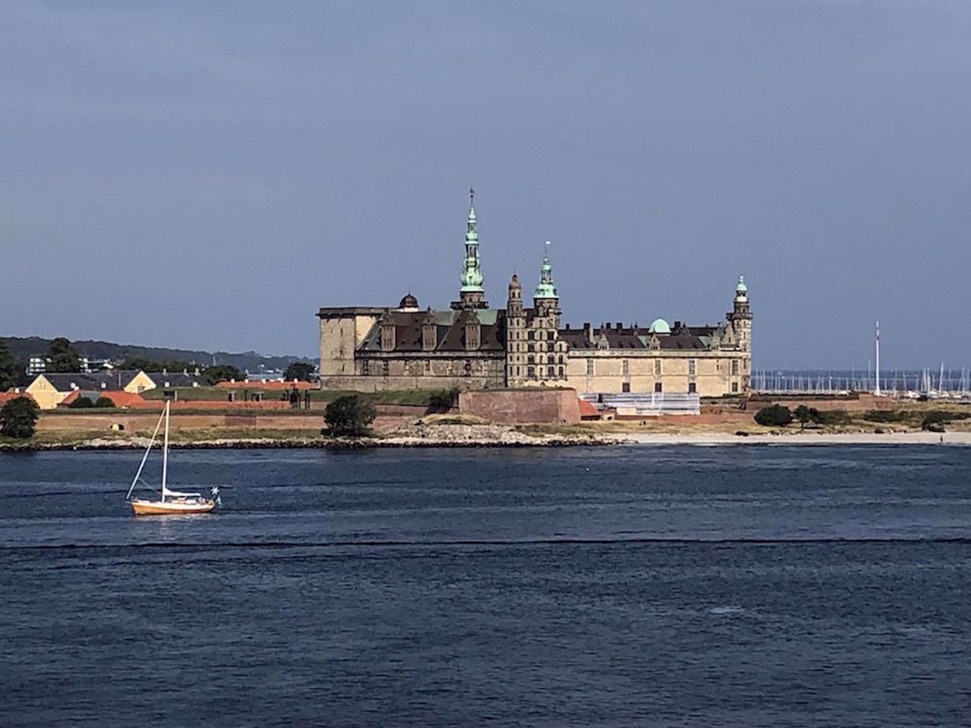 Castle at Helsingor Denmark