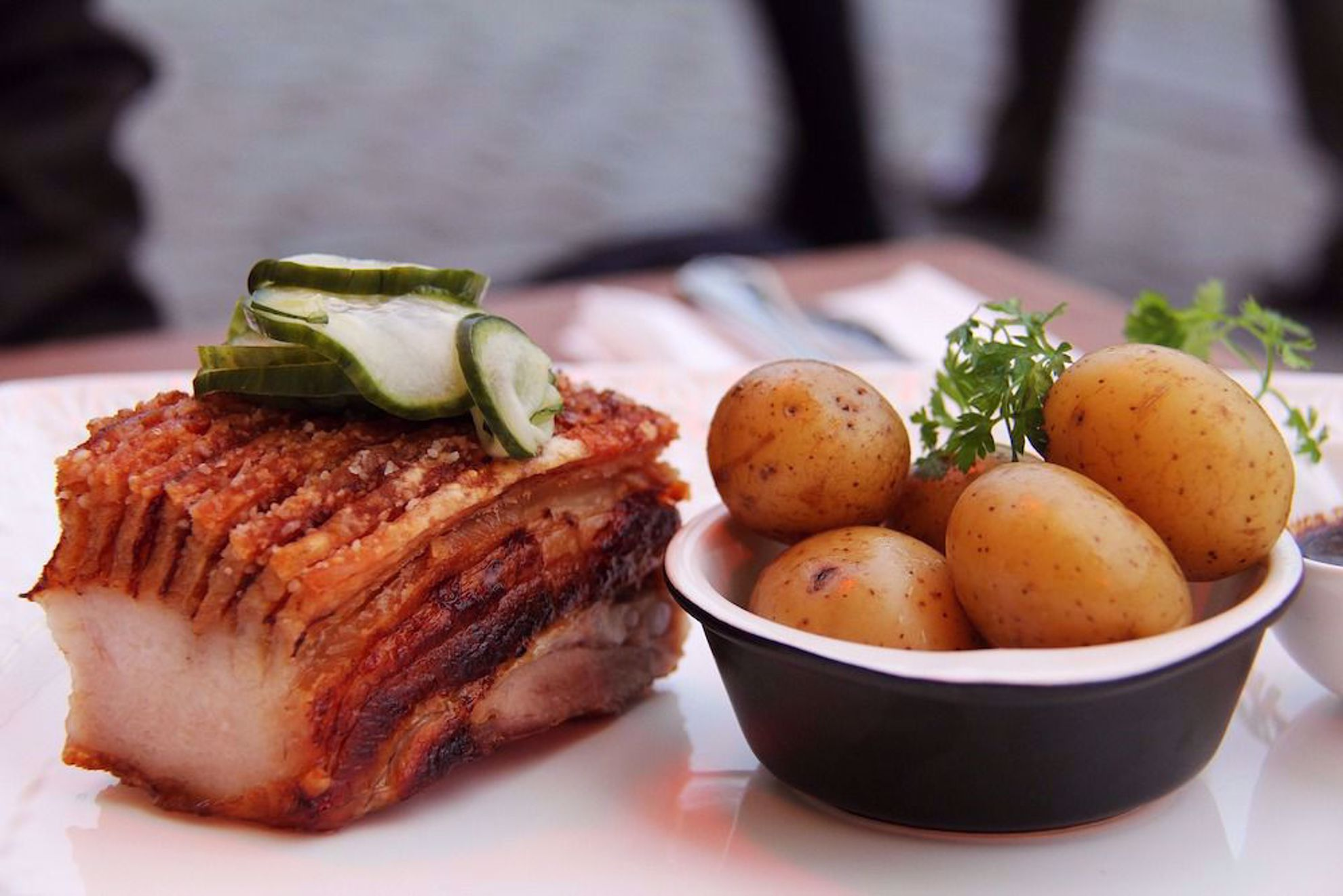 Danish meal Copenhagen