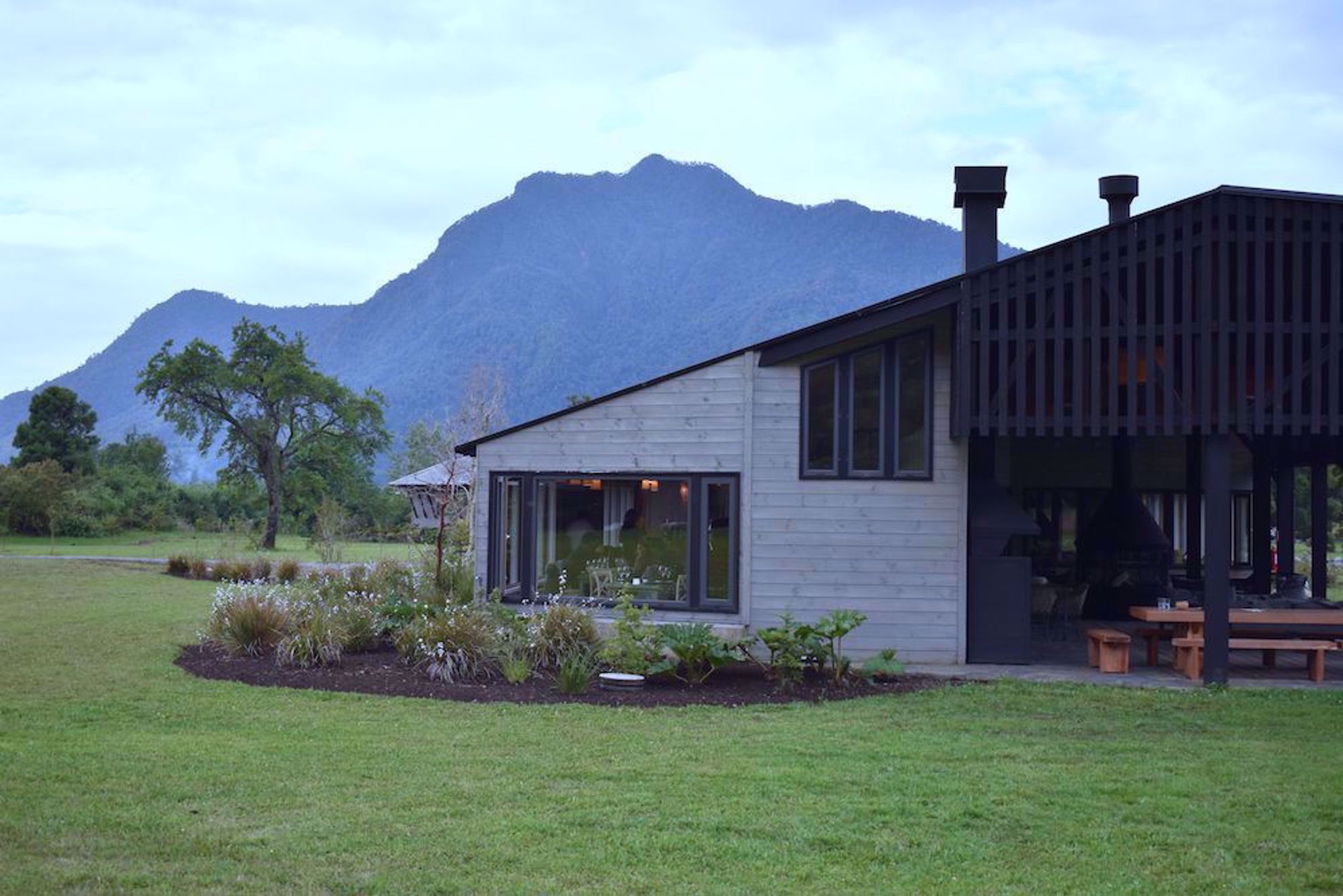 Restaurant at Parque Futangue Resort Chile