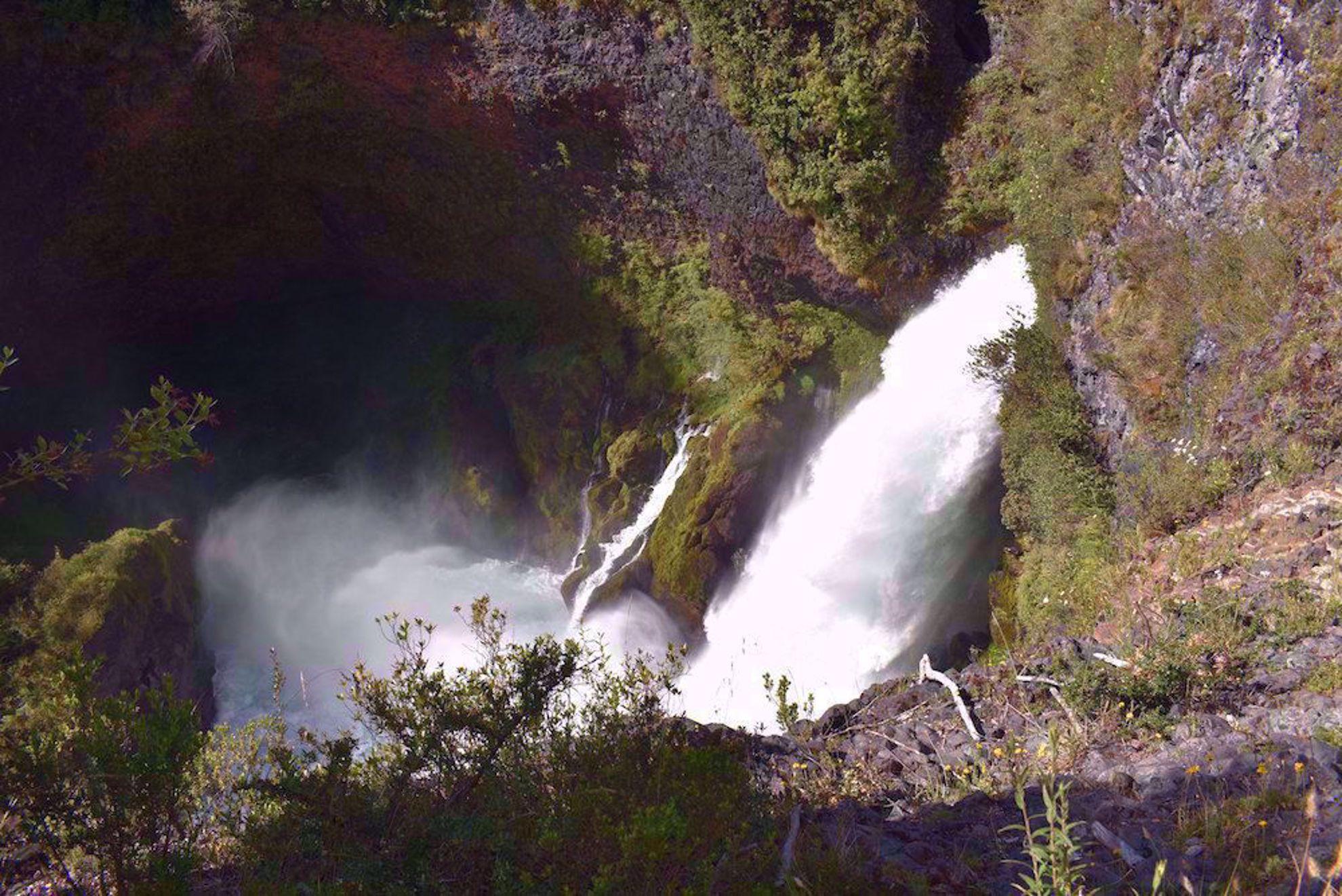 Huilo-Huilo Falls, Chile