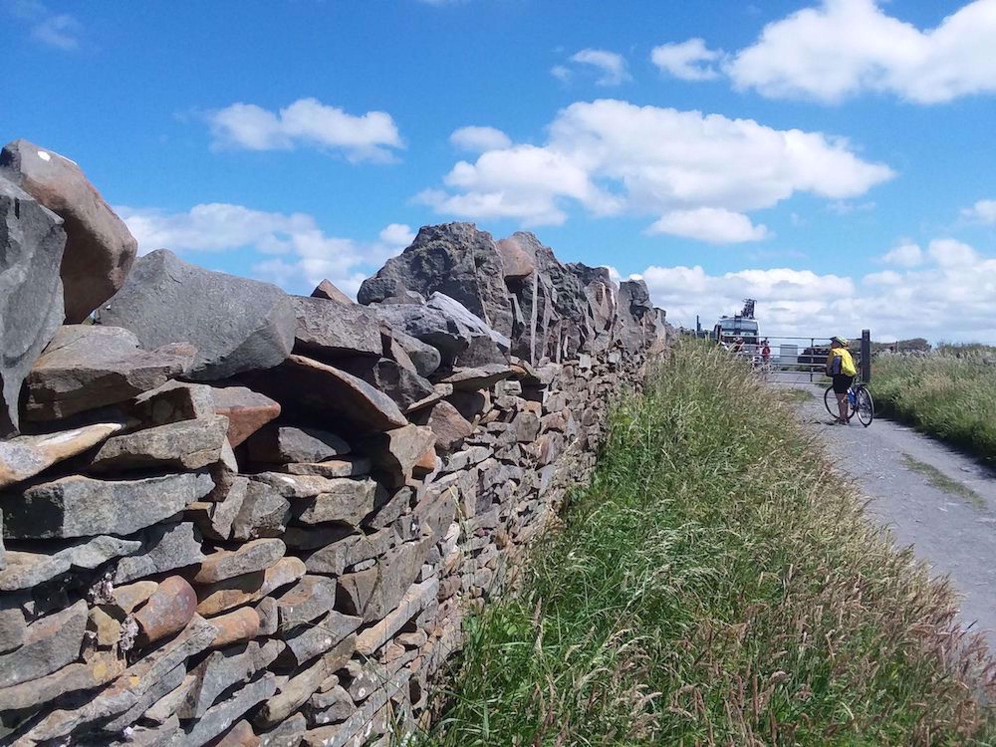 Stone wall in Ireland