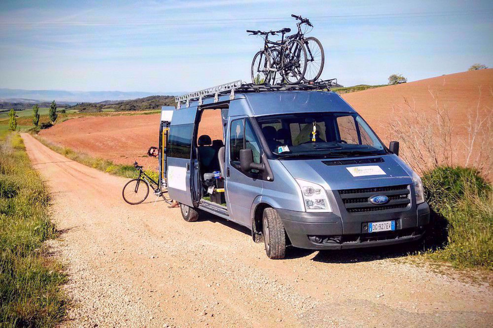 Van on the Camino, Spain