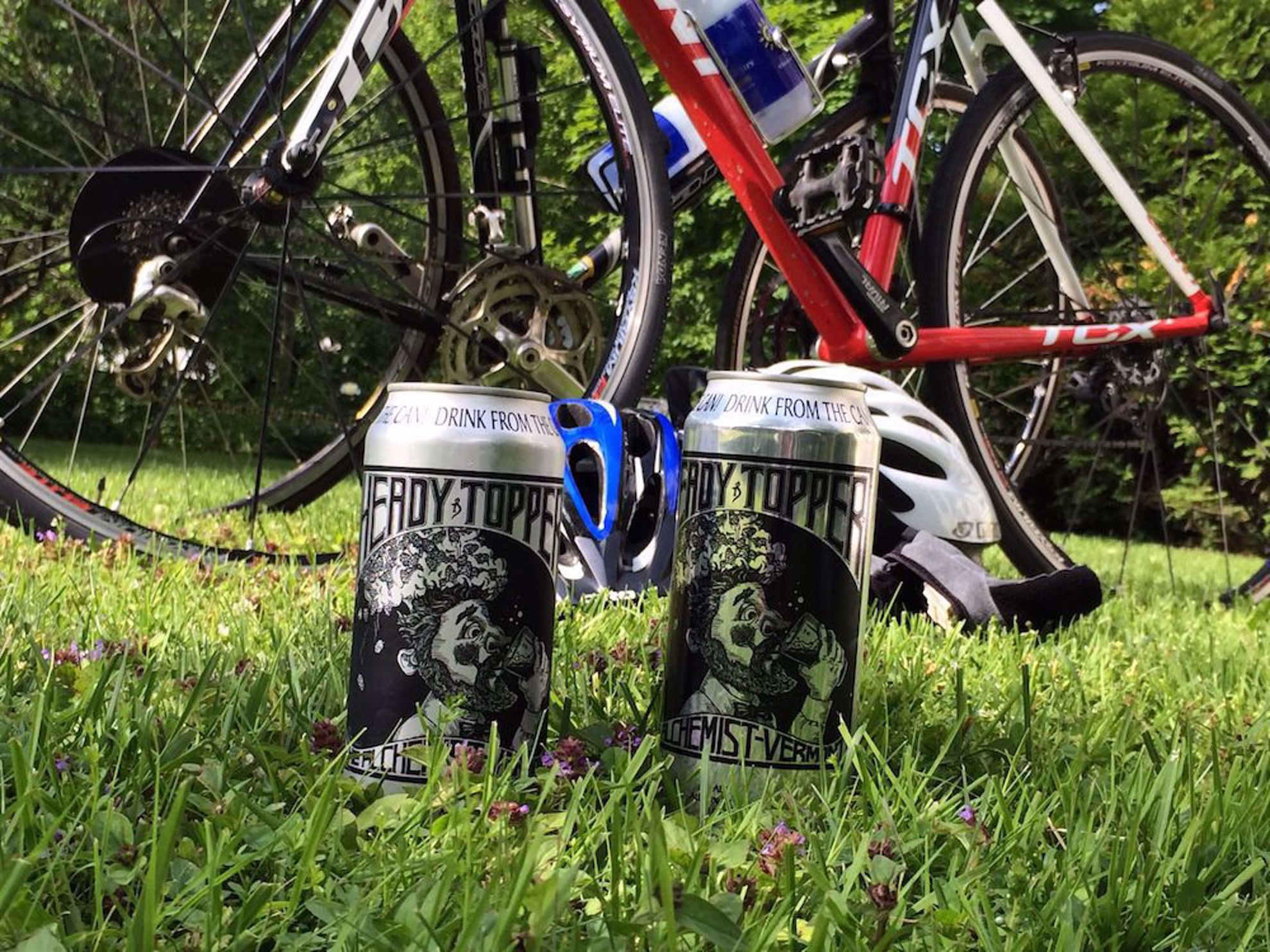 Heady Topper  beer and bikes