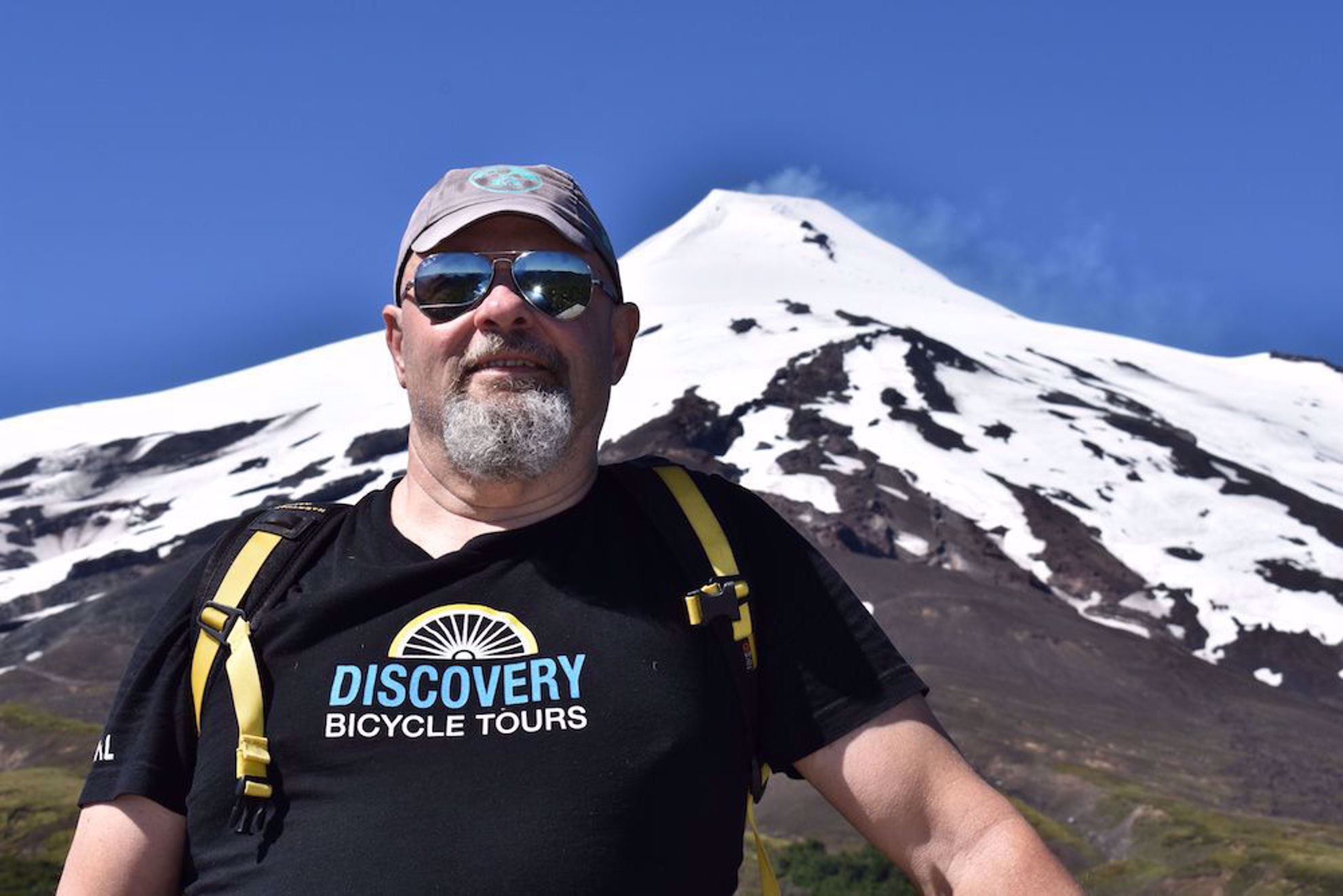 Hike at Volcan Villarrica, Chile