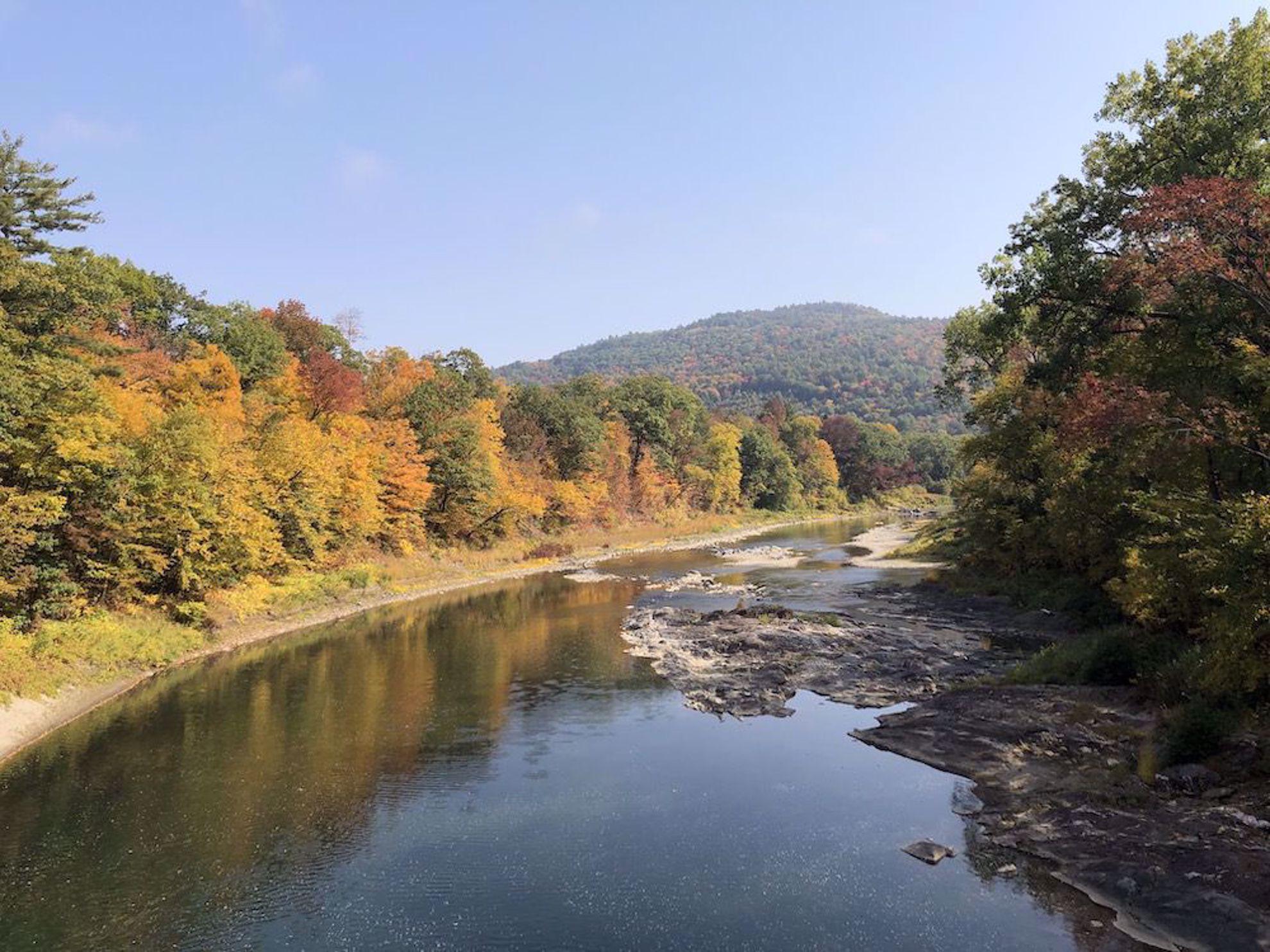 Fall on the Ottauquechee River, Woodstock
