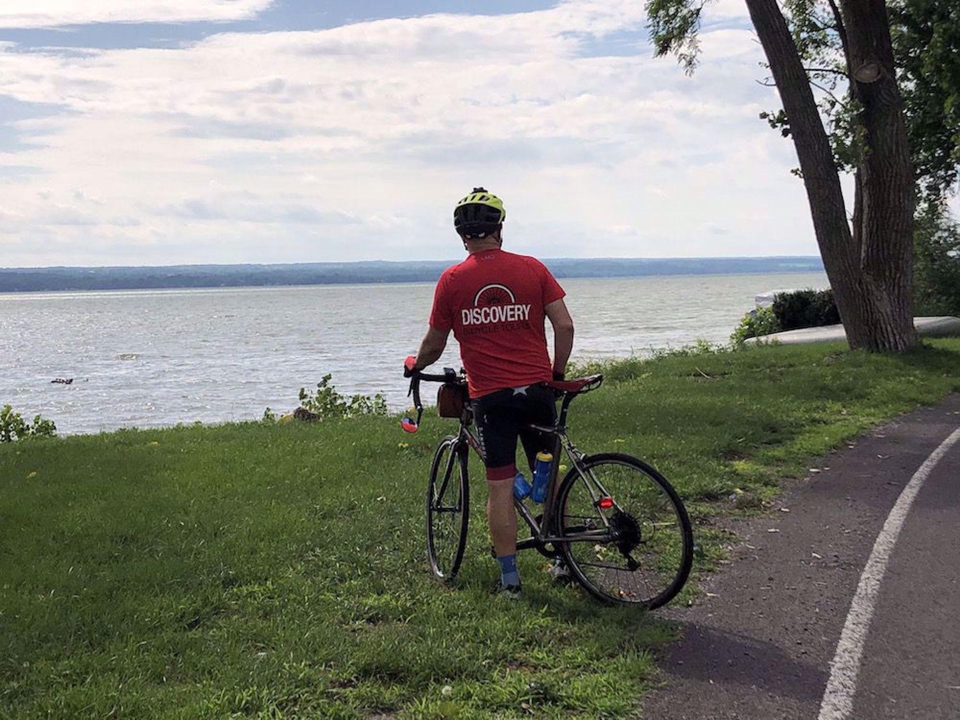 Scott by the lake