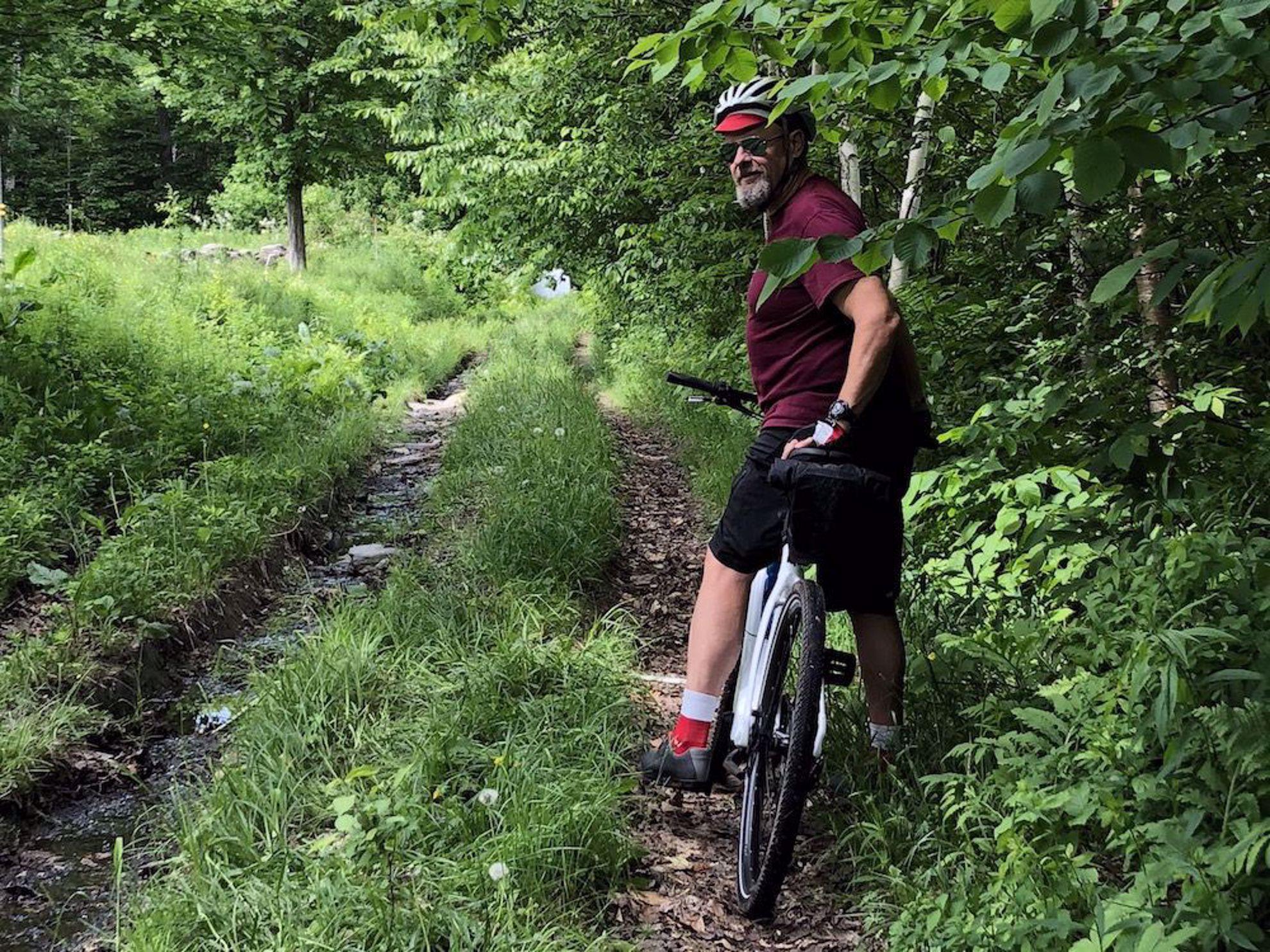 Scott on double track