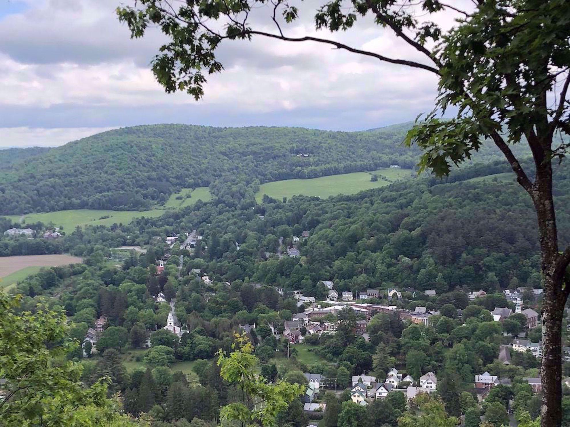 Woodstock from Mount Tom