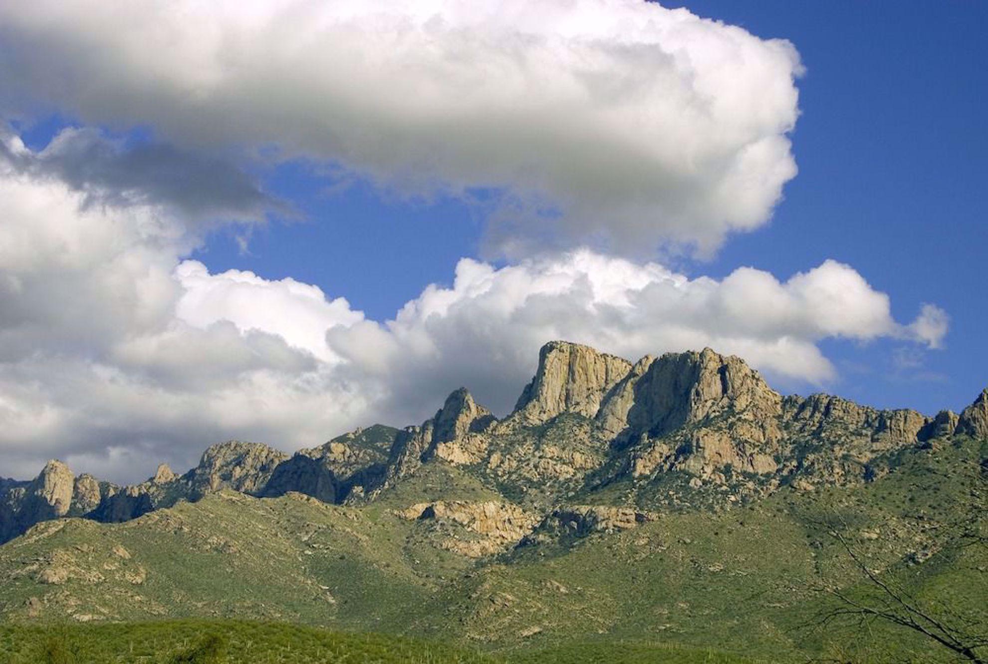Catalina Mountains near Tucson
