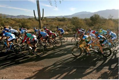 El Tour de Tucson by the cacti