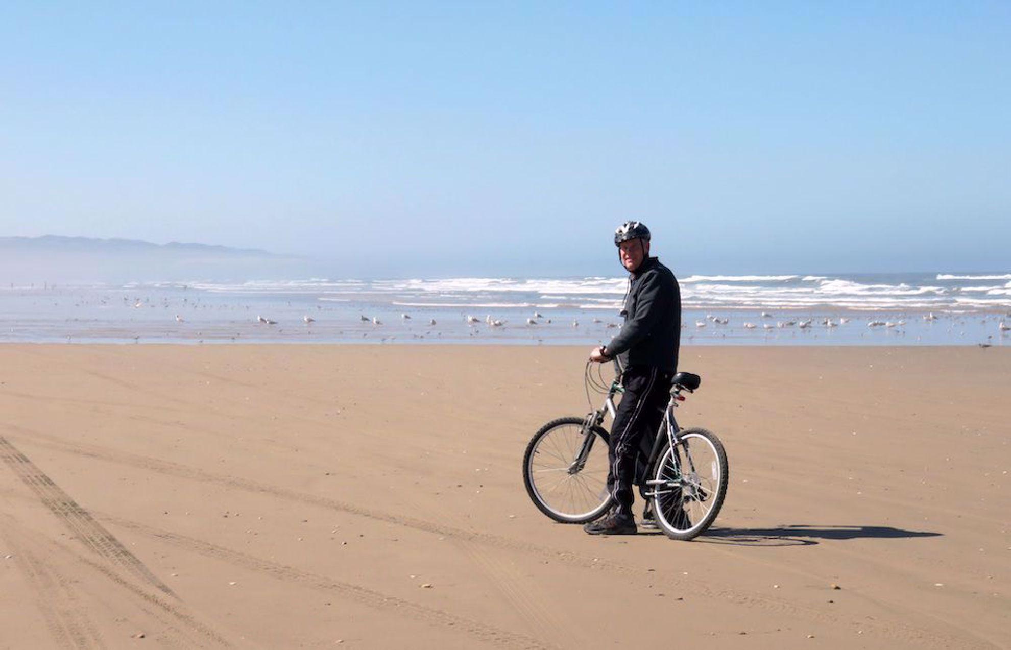 Bike on Pismo beach